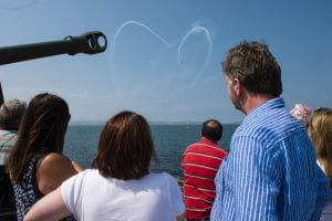Airshow at Bangor Sea Event
