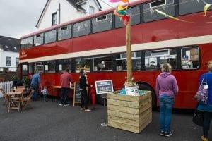 Double Decker Bus at Comber Earlies 2016