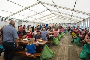 Food Tent Sea Bangor 2016